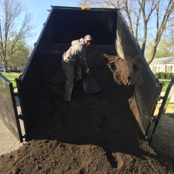 We can deliver your topsoil, mulch or rock! Get your free estimate today!